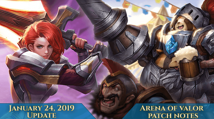 Arena of Valor Patch Notes