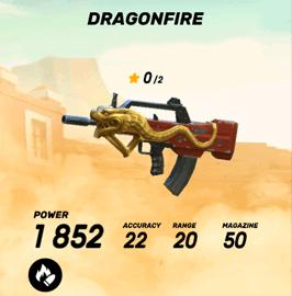 Dragonfire Assault Rifle - Guns of Boom Weapons