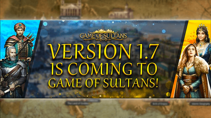 Game of Sultans 1.7 Update Announced