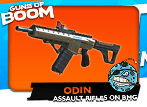 Guns of Boom Assault Rifle Odin