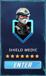 marvel strike force shield medic