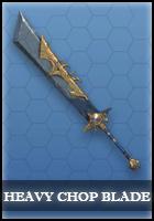 Heavy Chop Blade - Survival Heroes Weapons