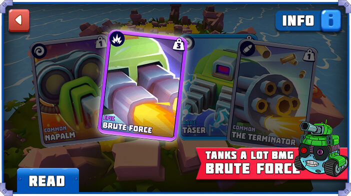 Tanks a Lot Brute Force
