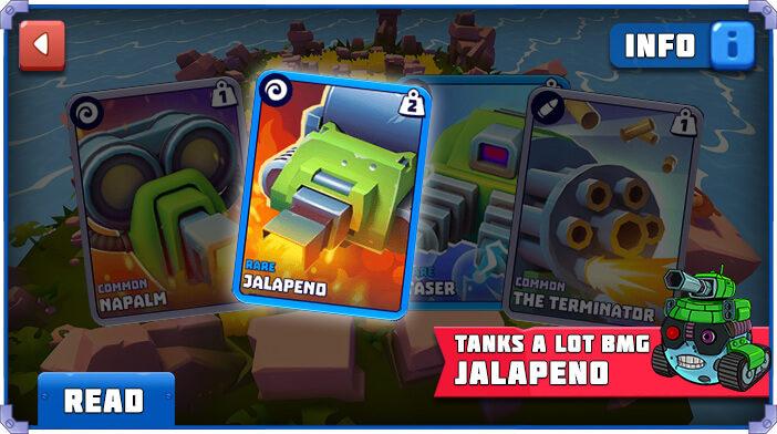 Tanks a Lot Jalapeno
