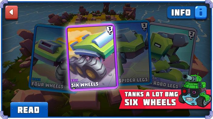Tanks a Lot Six Wheels