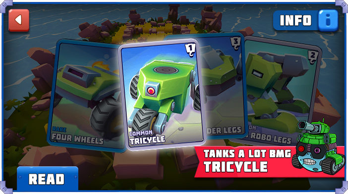 Tanks a Lot Tricycle