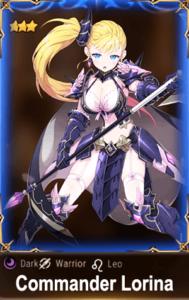 Epic 7 Commander Lorina