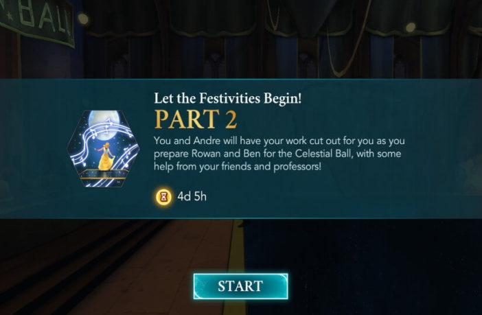 Harry Potter Hogwarts Mystery Walkthrough Let The Festivities Begin Adventure Part 2