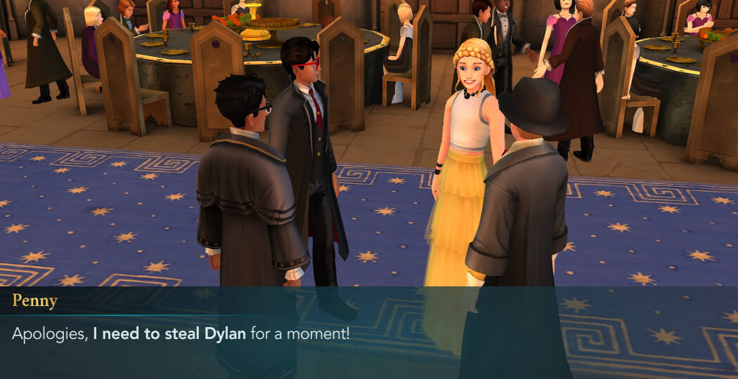 Harry Potter Hogwarts Mystery FanFiction The Celestial Ball Part 4