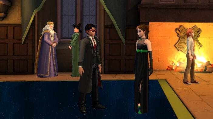Harry Potter Hogwarts Mystery FanFiction The Celestial Ball Part 4