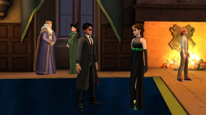 Part 4 - Celestial Ball Fan Fiction - Harry Potter Hogwarts
