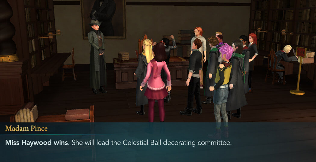Harry Potter Hogwarts Mystery FanFiction The Celestial Ball Part 2
