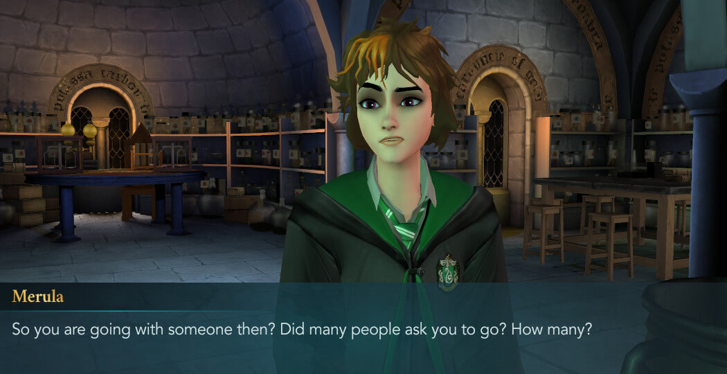 Harry Potter Hogwarts Mystery FanFiction The Celestial Ball Part 3