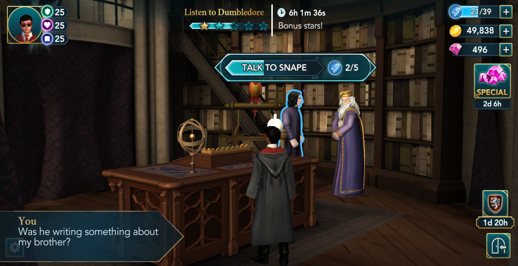 Harry Potter Hogwarts Mystery Walkthrough Year 5 Chapter 17