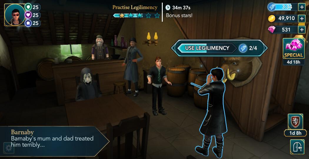 Harry Potter Hogwarts Mystery Walkthrough Year 5 Chapter 18
