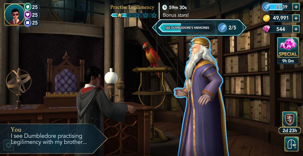 Harry Potter Hogwarts Mystery Walkthrough Year 5 Chapter 19