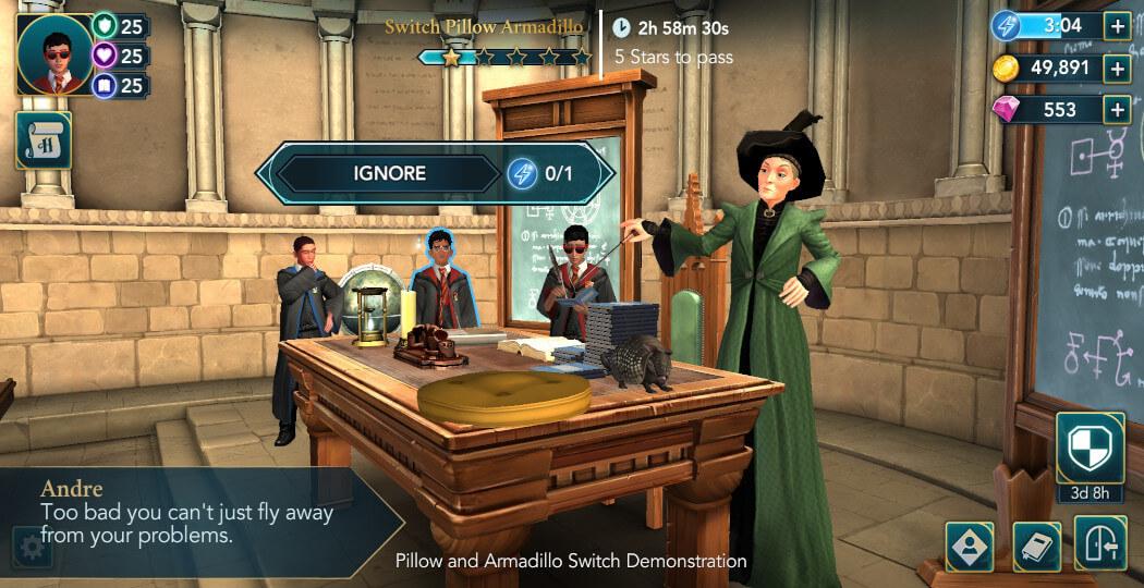Harry Potter Hogwarts Mystery Walkthrough Year 5 Chapter 20