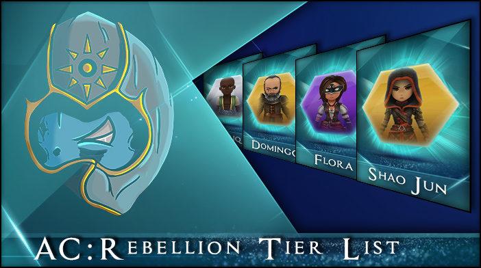 assassins creed rebellion tier list