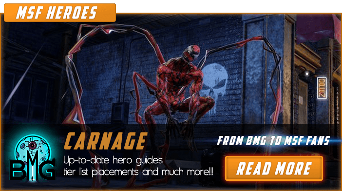 Carnage - Marvel Strike Force Hero