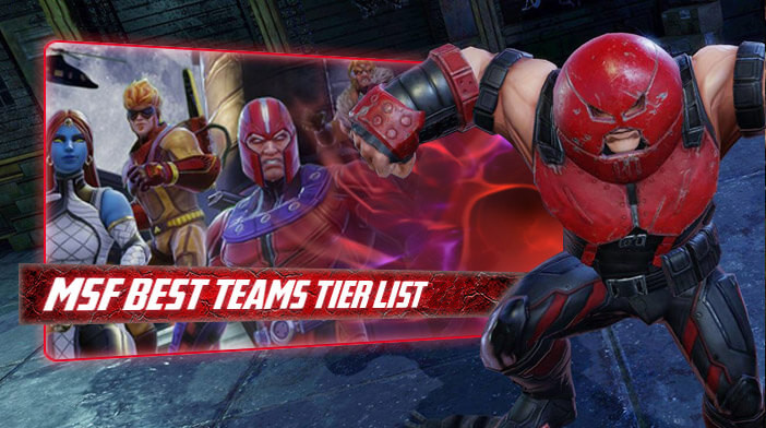 Best Teams Tier List (version 3 3) - Marvel Strike Force
