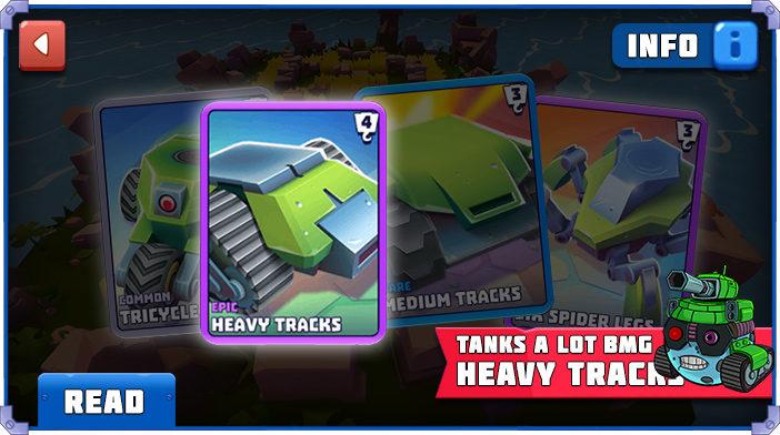Tanks a Lot Heavy Tracks