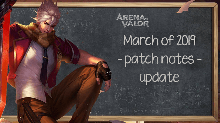 Arena of Valor March 2019 update