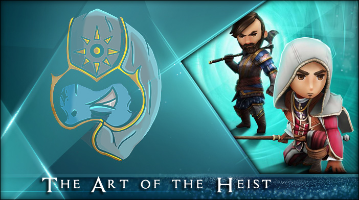 assassins creed rebellion the art of the heist event