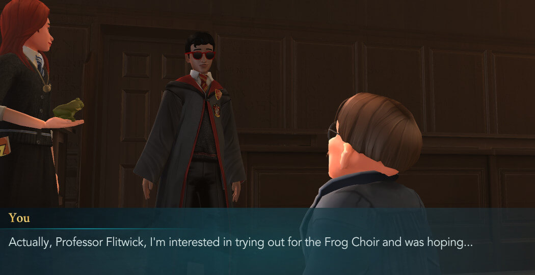 Harry Potter Hogwarts Mystery Walkthrough Audition for the Frog Choir Part 1