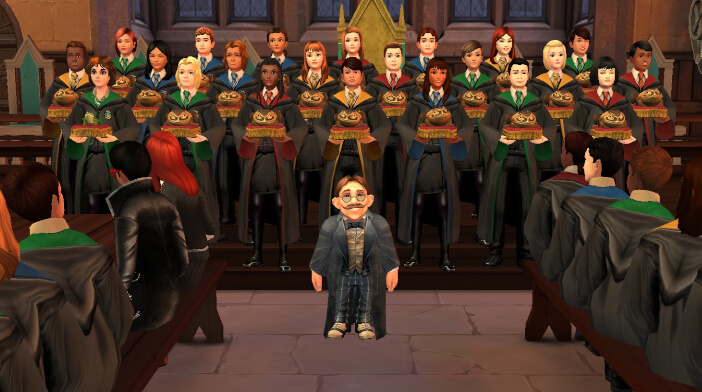 Harry Potter Hogwarts Mystery Walkthrough Audition for the Frog Choir Part 4