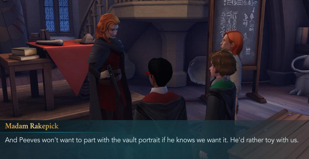 Harry Potter Hogwarts Mystery Walkthrough Year 5 Chapter 21
