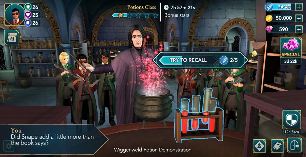 Harry Potter Hogwarts Mystery Walkthrough Year 5 Chapter 22
