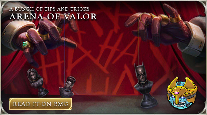 Arena of Valor tips and tricks