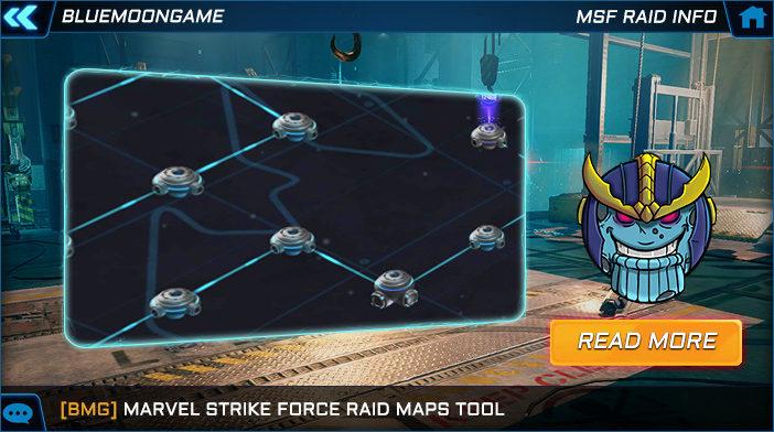marvel strike force raid maps help tool