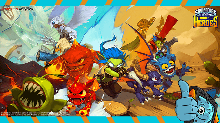 Skylanders: Ring of Heroes Review