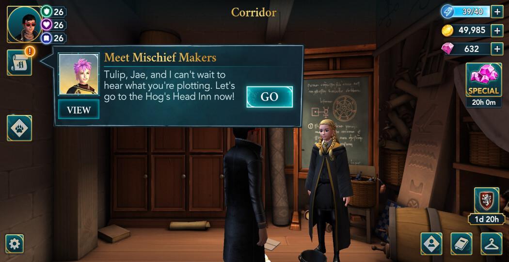 Harry Potter Hogwarts Mystery Walkthrough Year 5 Chapter 23