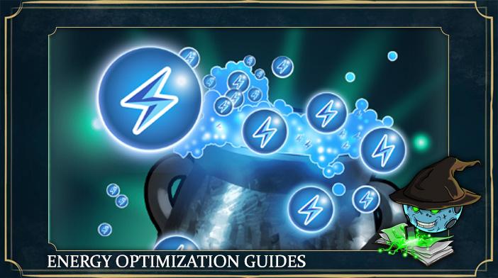 harry potter hogwarts mystery energy optimization