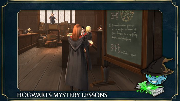 harry potter hogwarts mystery lessons
