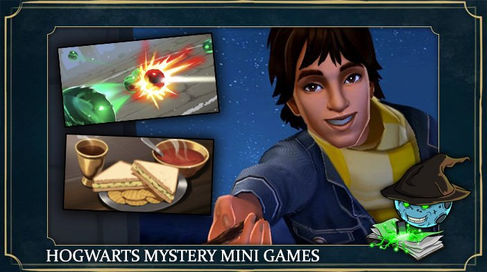 harry potter hogwarts mystery mini games