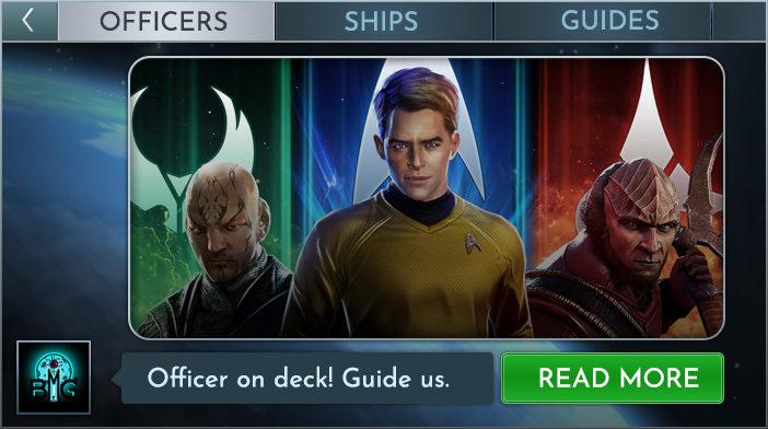 star trek fleet command officer guide