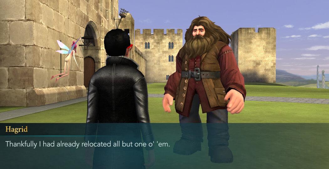Fairy Tale Hagrid Friend