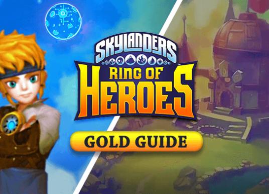 Skylanders Ring of Heroes Gold Guide