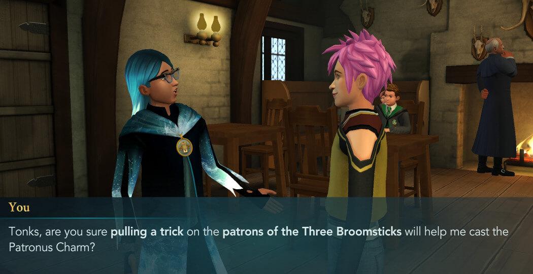 Harry Potter Hogwarts Mystery Walkthrough Unleash Your Patronus Part 2