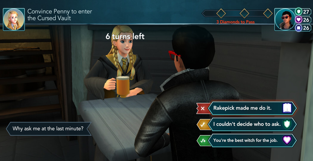 Harry Potter Hogwarts Mystery Walkthrough Year 5 Chapter 29
