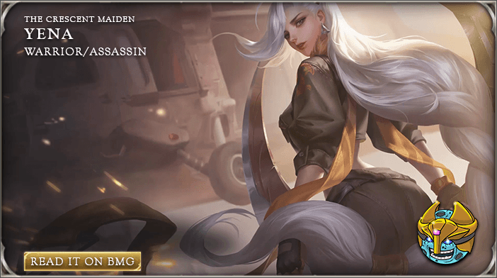 Arena of Valor AoV Yena guide - Bluemoongame