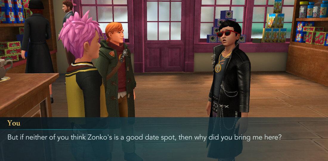 First Date Part 2 Walkthrough - Harry Potter Hogwarts Mystery