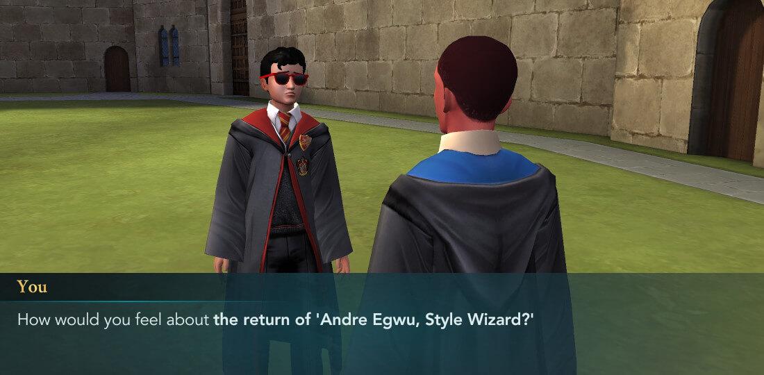 Harry Potter Hogwarts Mystery Walkthrough First Date Part 2