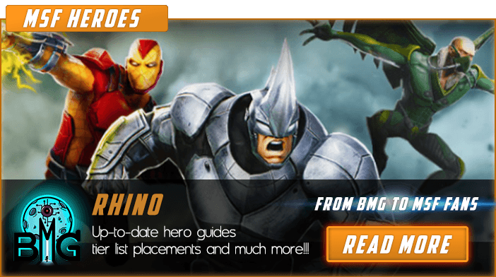 Marvel Strike Force Rhino featured