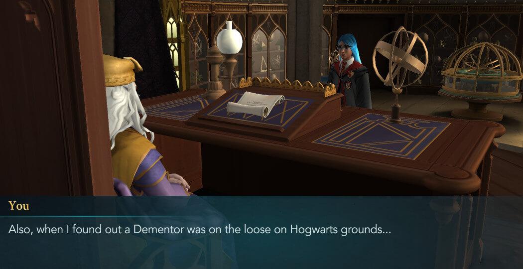 Harry Potter Hogwarts Mystery Walkthrough Unleash Your Patronus Part 4