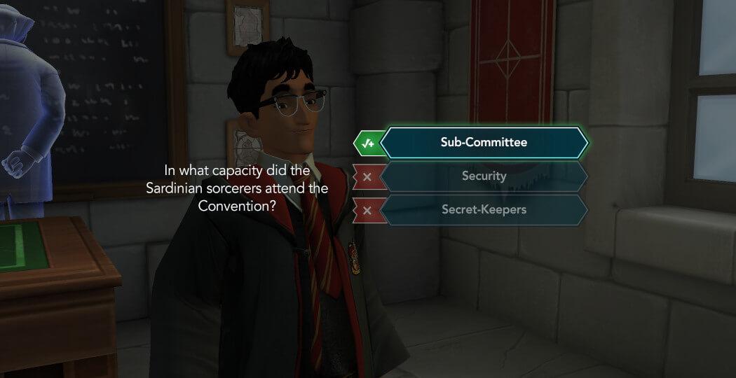 Harry Potter Hogwarts Mystery Walkthrough Year 5 Chapter 32