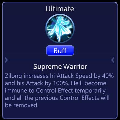 Zilong - Mobile Legends Adventure